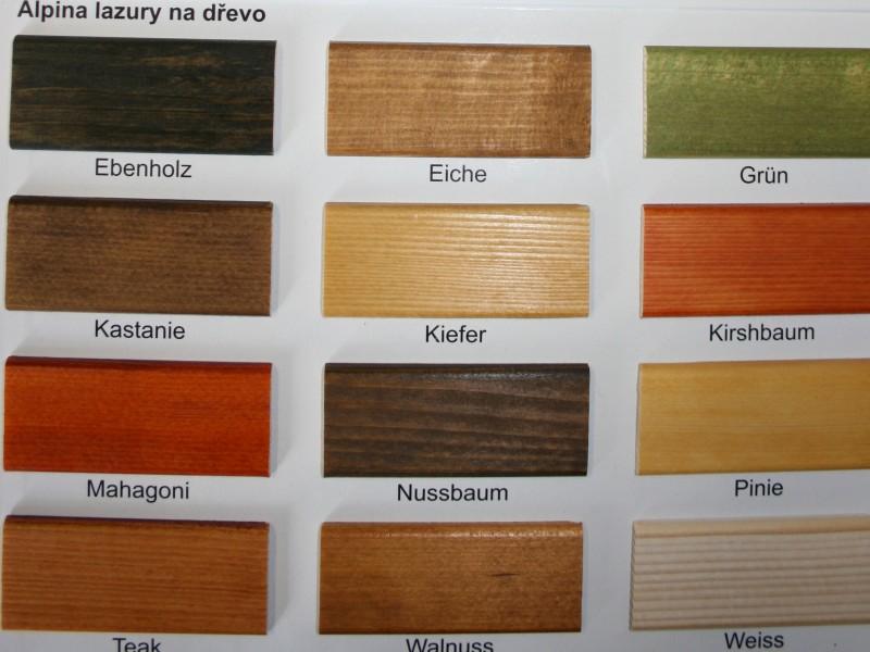 Lazura na dřevo do interiéru
